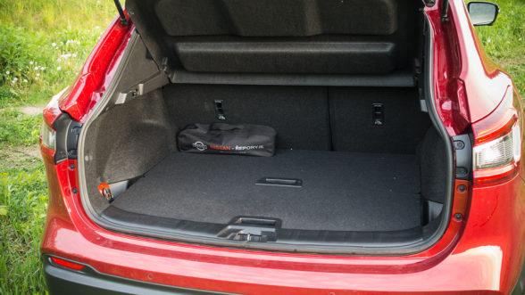 Nissan Qashqai - bagażnik