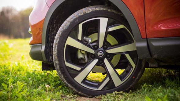 Nissan Qashqai - felgi