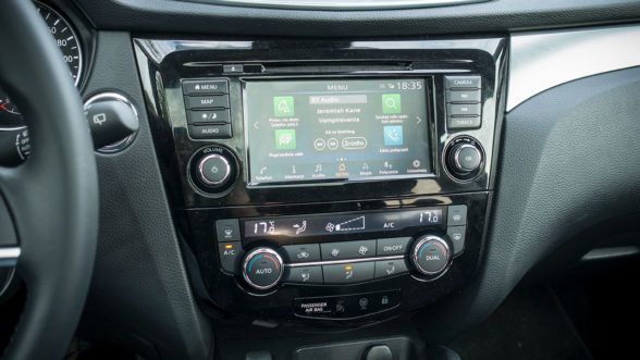 Nissan Qashqai - system inforozrywki
