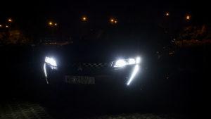 Peugeot 508 - noc przód