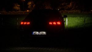 Peugeot 508 - noc tył