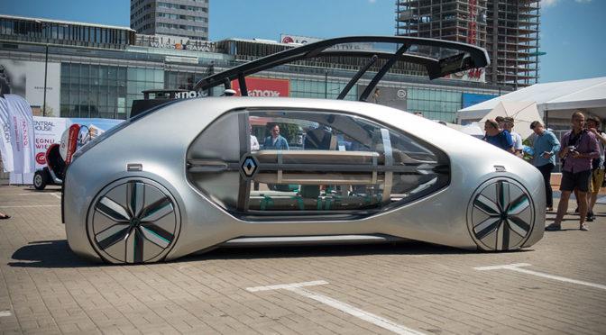 Pomysły na przyszłość transportu, czyli finał konkursu Renault Easy City