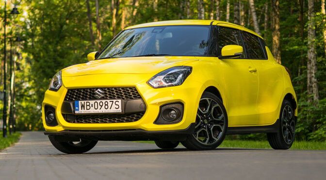 Suzuki Swift Sport 1.4 BoosterJet 140 KM (2019) – TEST