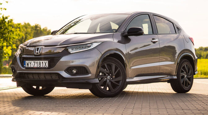 Honda HR-V Sport 1.5 VTEC Turbo 182 KM - TEST