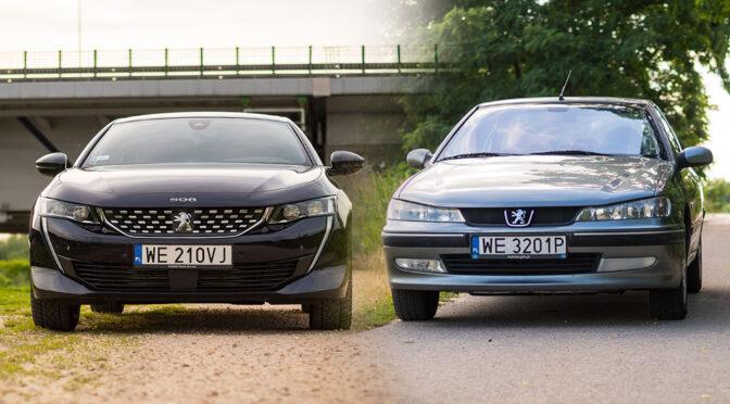 Peugeot 508 vs 406 – jak zmieniła się motoryzacja przez 20 lat?