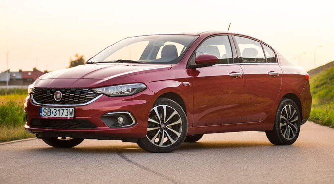 Fiat Tipo Sedan 1.6 MultiJet 120 KM Lounge – TEST