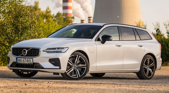 Volvo V60 T8 R-Design 390 KM (hybryda Plug-In) – TEST