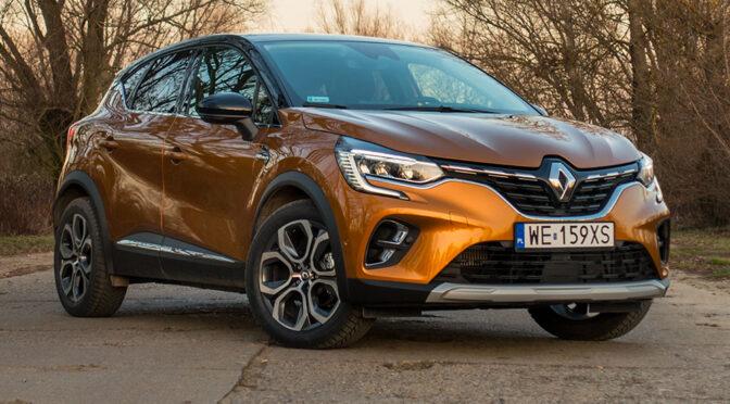 Renault Captur 1.3 TCe 155 KM EDC (2020) - TEST