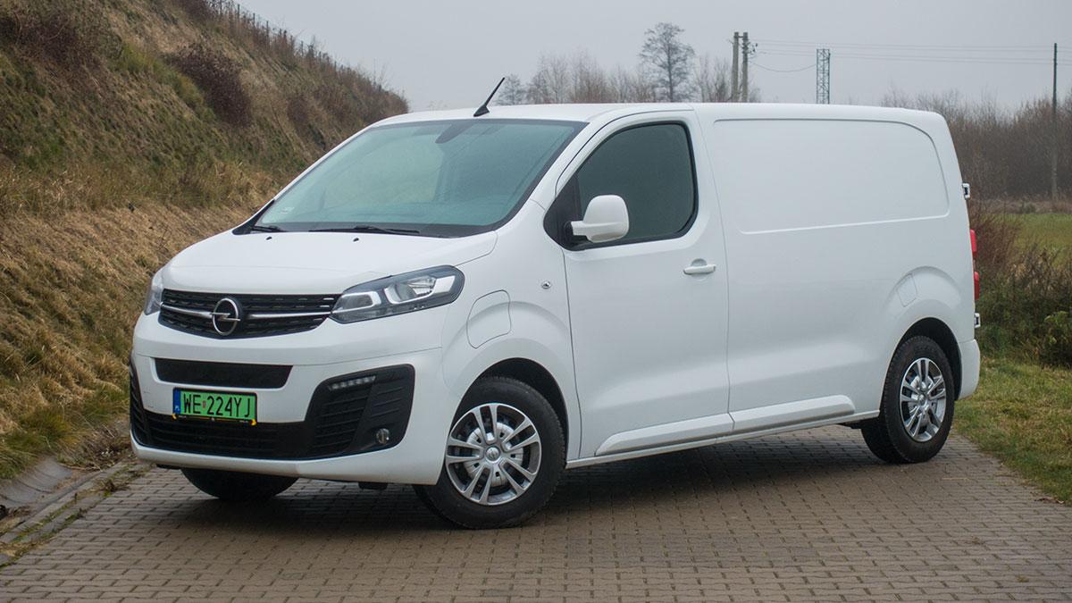 opel vivaro-e furgon long 75 kwh 2021 - test
